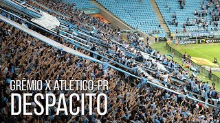 Torcida do Grêmio cantando Despacito na TUNDA DE LAÇO no Atlético-PRTe inscreve no canal: https://www.youtube.com/rduckerSegue o site em todas as plataformas:Facebook: https://www.facebook.com/ducker.com.br/Twitter: https://twitter.com/Ducker_GremioInstagram: https://www.instagram.com/ducker_gremio/