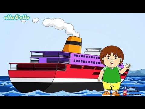Ella Ello : Kapal Laut 2 | Open and Find | Puri Animation Channel