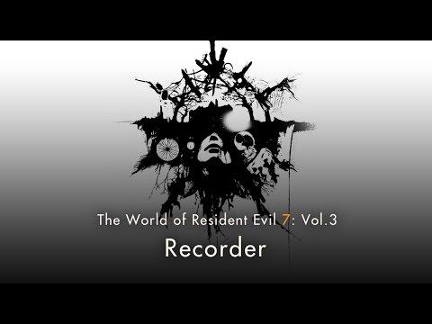 Resident Evil 7 - magnétophone