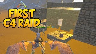 FIRST C4 RAID on RAGNAROK! - Ark Survival Evolved Ragnarok PVP #5Second Channel: http://bit.ly/1XUOP8GTwitter: https://twitter.com/PartiallyRoyalInstagram: http://instagram.com/partroyalLivestream: http://www.twitch.tv/partiallyroyal