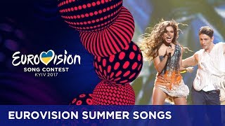 'Summer's here, winter's gone, finally I can see the sun!'Heat up your summer playlists with some Eurovision summer songs! Which Eurovision songs are in your summer playlist? Let us know in the comments! If you want to know more about the Eurovision Song Contest, visit https://eurovision.tv