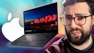 ¡El Oscuro rival del Macbook...! Thinkpad X1 Extreme vs Macbook Pro 15