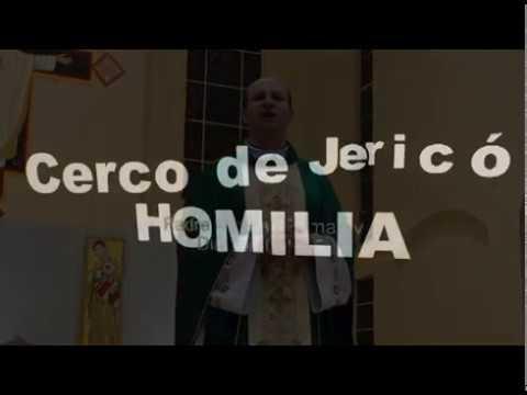 Vídeo HOMILIA Padre Diomar Missa de encerramento do Cerco de Jericó dia 10 10 2018 MATRIZ