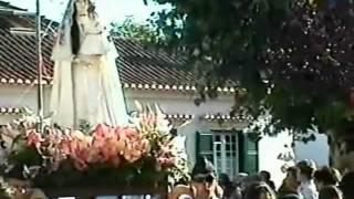 Festas de Nossa Senhora do Carmo no Samouco - Recordações - Procissão com a Banda da Sociedade Filarmónica...