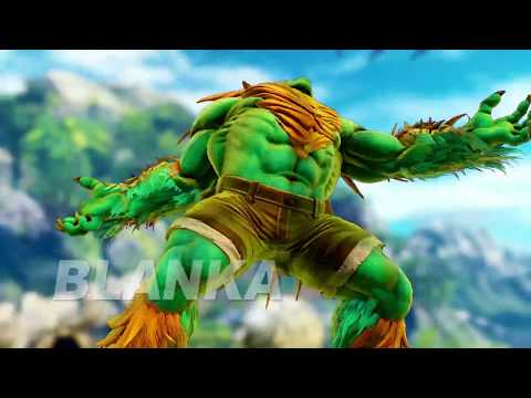 Street Fighter V - Blanka Gameplay Trailer