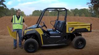 6. Cat® Utility Vehicle Overview Daily Maintenance and Inspection