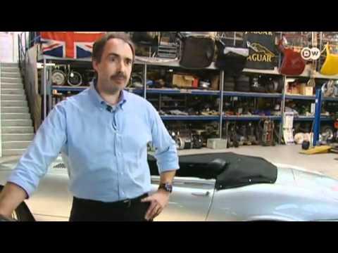 عرض لأسطورة جاكوار سيارة E-Type - فيديو