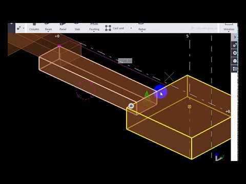 Bài 1: Hướng dẫn tekla cơ bản (tiếp) - Bê tông cốt thép