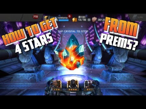 How To Get 4 Stars From Prems - Debunking Edition | Marvel Contest Of Champions