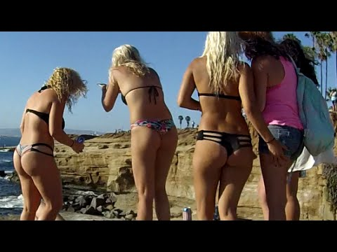 Cliff Jumping Party in San Diego, CA
