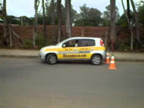 BALIZA PARA EXAME PASSO A PASSO.(CEPEL-BH)Auto Escola Ricardo e Cia F:(031)3461-9310