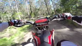 7. Hero 3+ Black Edition Husqvarna TE450 2010 Mount Royal National Park