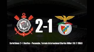 Principais resultados do Corinthians contra times da Europa.
