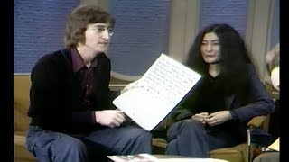 THE DICK CAVETT SHOW John Lennon, Yoko Ono, And Shirley MacLaine