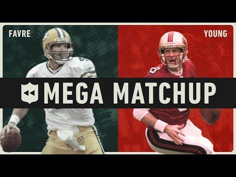 Video Brett Favre vs. Steve Young MEGA Matchup! | NFL Throwback download in MP3, 3GP, MP4, WEBM, AVI, FLV January 2017