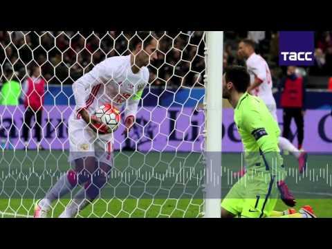россия франция товарищеский матч 2016 футбол какой счет