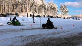 4. Kirk Beaton's TD 5130 500HP trail max sled (full weight 500HP+)