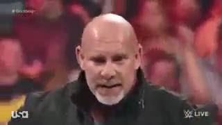 Goldberg Returns in WWE ! RAW vs SMACKDOWN
