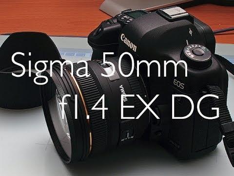 Sigma 50mm f1.4 EX DG Recensione