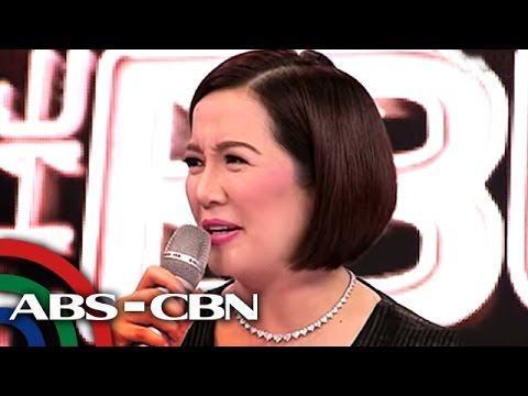 why - Three days after she was rushed to the hospital, Kris Aquino returned to work on Sunday to host the weekly showbiz talk show 'The Buzz.'