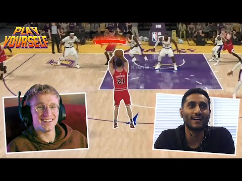 NBA Insider Shams Charania Plays MMG in 2K and Gets Himself Benched | Play Yourself Ep. 9