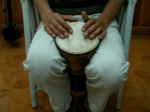 Basic class for small Djembe Drum