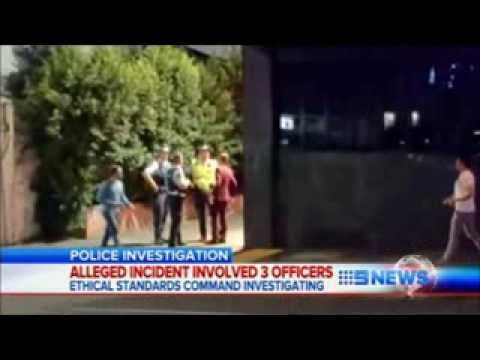 Supervising Qld police officer caught on camera punching a man