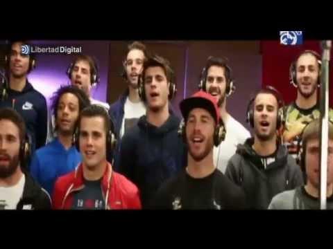 El Madrid presenta la canción de la Décima 'Hala Madrid y nada más'
