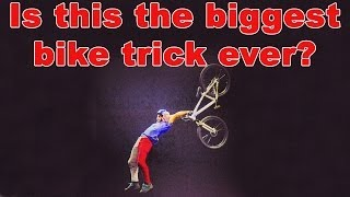 Insane Bike Trick Seems To Murder The Laws Of Physics
