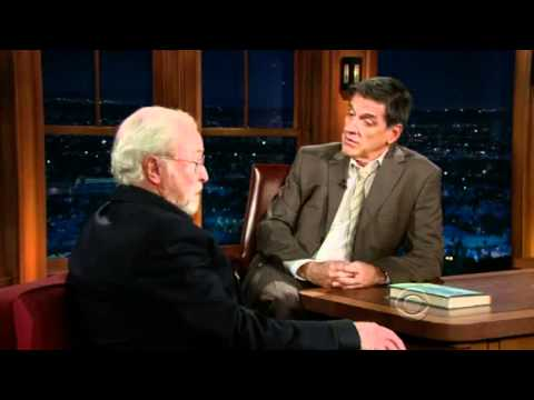 Michael Caine Talks About Christian Bale's Rant With Craig Ferguson 2010