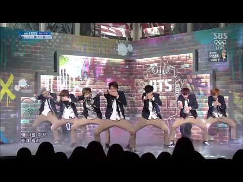 [140216] BTS - Boy In Luv (Comeback Stage)