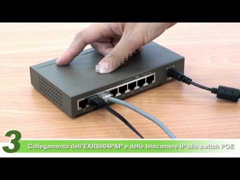 Come installare e programmare un kit videosorveglianza IP Eurotek Plug&Play