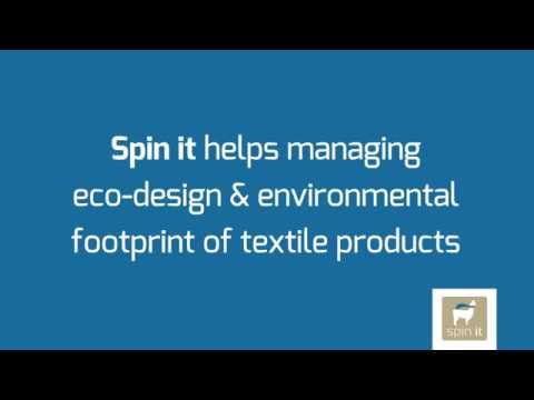 Spin it - Eco-design & environmental footprint of textile products