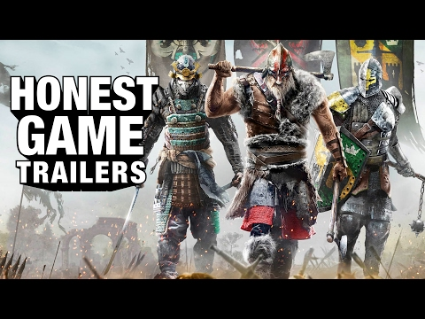 FOR HONOR (Honest Game Trailers)