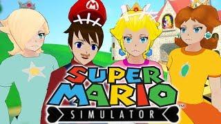 SO MANY GLITCHES!!! | Yandere Simulator Super Mario & Princess Peach Mod