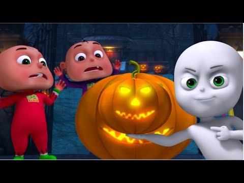 Five Little Babies In a Haunted Bungalow | Zool Babies Fun Songs | Halloween Songs | ScaryaND spooky