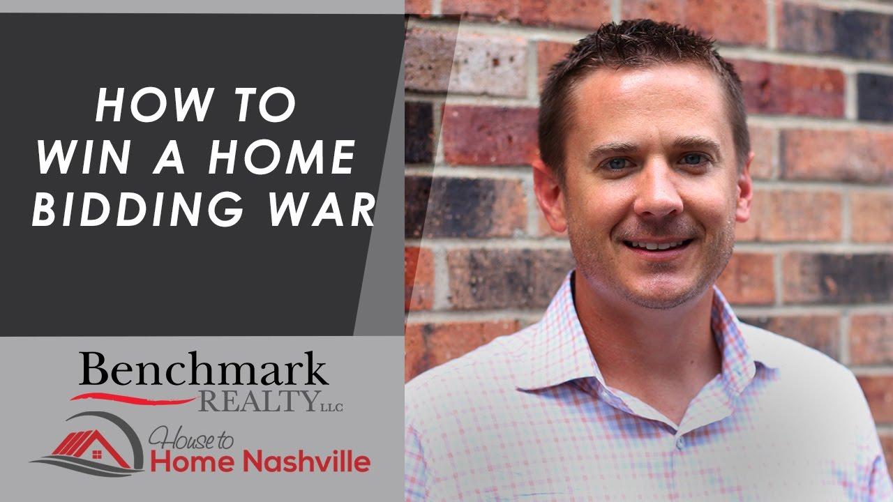 How to Win a Nashville Home Bidding War
