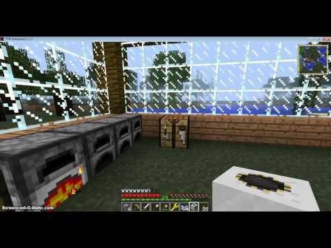 Minecraft FTB Episode 3 Quarry Part 1