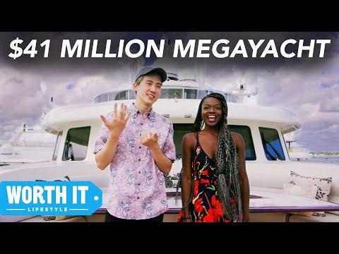 $600 Boat Vs. $41 Million Boat (видео)