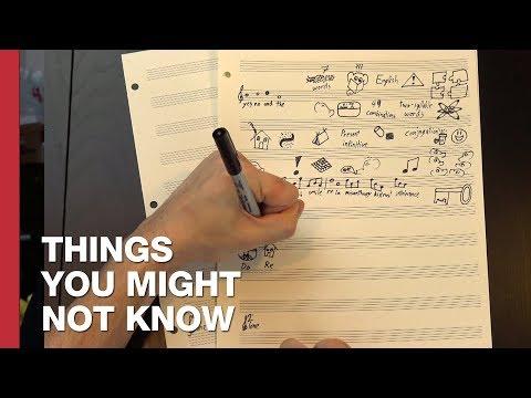 A Language Made Of Music (видео)