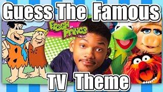 Video 🤔GUESS THE FAMOUS TV THEME!!!🤔 MP3, 3GP, MP4, WEBM, AVI, FLV Juni 2019