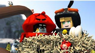 Minecraft   MORPH HIDE AND SEEK - Angry Birds Movie Mod! (Angry Birds Movie)