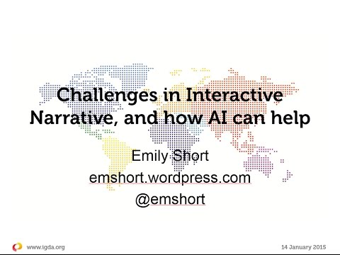 IGDA Webinar, 14 January 2015: Interactive Fiction - An AI-based Overview