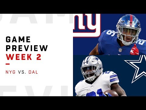 New York Giants vs. Dallas Cowboys | Week 2 Game Preview | Move the Sticks