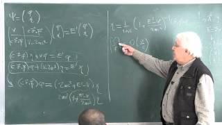 METU - Quantum Mechanics II - Week 11 - Lecture 2