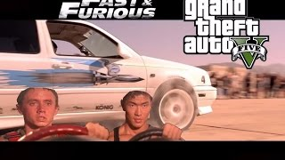 Nonton GTA 5 - The Fast And The Furious - Jesse VS Tran - Remake Film Subtitle Indonesia Streaming Movie Download
