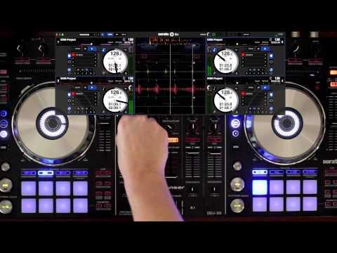 Pioneer DDJ-SX 4 Deck Mix Serato - STYLE - HD