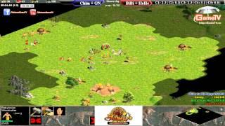 Chim Sẻ, Gunny vs BiBi, HeHe  Ngày 04 07 2015  C5T1, game đế chế, clip aoe, chim sẻ đi nắng, aoe 2015