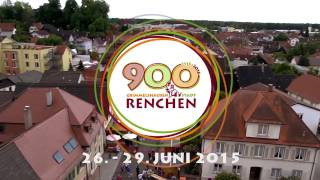 900 Jahre Renchen