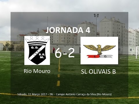 2ªFase/Jornada 4: Rio Mouro - SL Olivais B (видео)